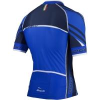 Rogelli Andrano 2.0 Koszulka rowerowa letnia czarno niebieska
