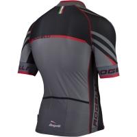 Rogelli Andrano 2.0 Koszulka rowerowa letnia czarno czerwona
