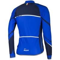 Rogelli Andrano 2.0 Koszulka rowerowa długi rękaw czarno niebieska