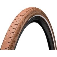 "Continental Ride Classic 28"" ExtraPuncture Belt Opona drutowa E-bike brązowa reflex"