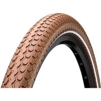 "Continental Ride Cruiser 26"" ExtraPuncture Belt Opona drutowa E-bike brązowa reflex"