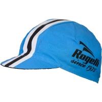 Rogelli Retro Czapka z daszkiem czarno niebieska