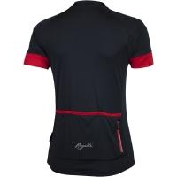 Rogelli Modesta Koszulka rowerowa damska czarno czerwona