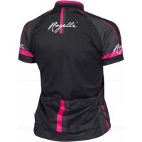 Rogelli Manica Rosa Koszulka rowerowa damska czarno różowa