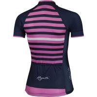 Rogelli Ispira Koszulka rowerowa damska granatowo różowa