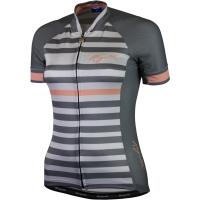 Rogelli Ispira Koszulka rowerowa damska szaro różowa