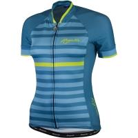 Rogelli Ispira Koszulka rowerowa damska niebiesko żółta