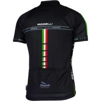 Rogelli Team Koszulka z krótkim rękawkiem czarna