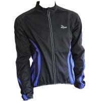 Rogelli Mura Softshell Bluza rowerowa czarno niebieska