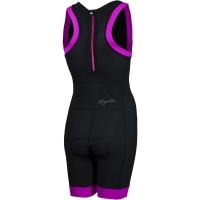 Rogelli Taupo Kombinezon triathlonowy damski czarno różowy
