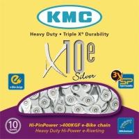 KMC X10E E-Bike Łańcuch 10 rzędowy 114 ogniw + spinka