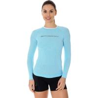 Brubeck 3D Run PRO Koszulka z długim rękawem damska błękitna