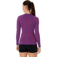 Brubeck 3D Run PRO Koszulka z długim rękawem damska purpurowa