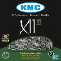 KMC X11.93 Łańcuch 11 rzędowy 118 ogniw + spinka