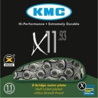 KMC X11.93 Łańcuch 11 rzędowy 118 ogniw oem + spinka