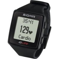 Sigma iD.Life Zegarek z pulsometrem czarny