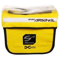 Sport Arsenal Expedice 310 Wodoszczelna torba na kierownicę, mocowana na zatrzask żółta