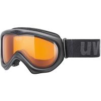 Uvex Magic II Gogle narciarskie black lasergold lite clear