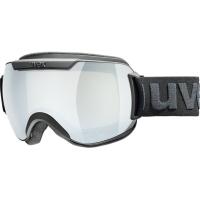 Uvex Downhill 2000 FM Gogle narciarskie black mat z szybą mirror silver clear 2019