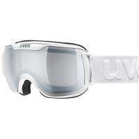 Uvex Downhill 2000 S LM Gogle narciarskie white z szybą litemirror silver clear 2019