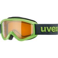 Uvex Speedy Pro Gogle narciarskie junior dziecięce lightgreen z szybą lasergold 2019