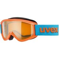 Uvex Speedy Pro Gogle narciarskie junior dziecięce orange z szybą lasergold 2019