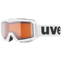 Uvex Flizz LG Gogle narciarskie junior dziecięce white lasergold clear