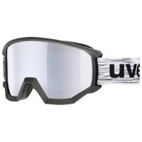 Uvex Athletic FM Gogle narciarskie supravision black mat mirror silver
