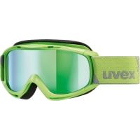 Uvex Slider FM Gogle narciarskie junior dziecięce lightgreen mirror green
