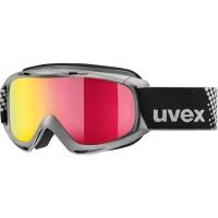Uvex Slider FM Gogle narciarskie junior dziecięce anthracite mirror red
