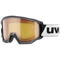 Uvex Athletic LGL Gogle narciarskie black lasergold lite blue
