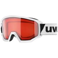 Uvex Athletic LGL Gogle narciarskie white lasergold lite rose