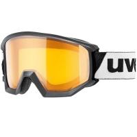 Uvex Athletic LGL Gogle narciarskie black lasergold lite clear