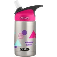 Camelbak Eddy Kids Vacuum Insulated Butelka termiczna 400ml srebrno różowa