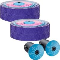 Supacaz Super Sticky Kush Multicolor Owijka na kierownicę różowo niebiesko purpurowy