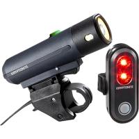 Kryptonite Street F 500 / Avenue R 45 Zestaw lampek przód tył LED USB 2019