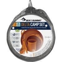 Sea to Summit Delta Camp Set Zestaw naczyń orange 2019