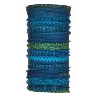 Viking Fleece Inside Komin z polarem niebiesko zielony
