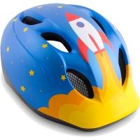 MET Super Buddy Kask rowerowy dziecięcy rocket niebieski matowy