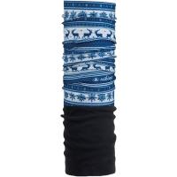 Viking Polartec Komin z polarem niebiesko biały
