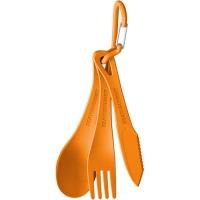 Sea to Summit Delta Cutlery Set Zestaw sztućców orange 3szt.