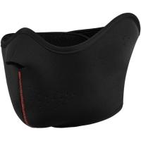 Viking Pehr Maska na rzep czarna z czerwonym