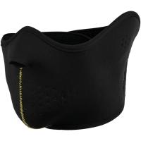 Viking Pehr Maska na rzep czarna z żółtym
