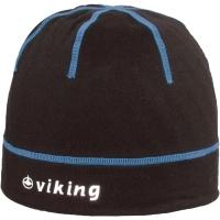Viking Cross Country Craig Czapka rowerowa czarno niebieska odblaskowe logo