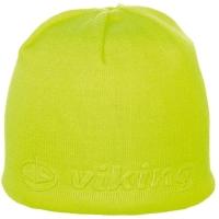 Viking Regular Salter Czapka sportowa żółta neon tłoczone logo