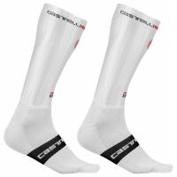 Castelli Fast Feet Skarpetki rowerowe białe 2020