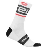 Castelli Free Kit Skarpetki rowerowe biało czarne 2019