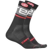 Castelli Free Kit Skarpetki rowerowe czarno szare 2019