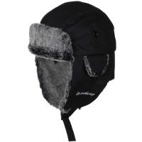 Viking Tabara Czapka uszatka zimowa czarna