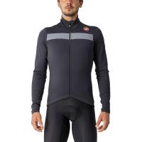 Castelli Puro 3 Bluza rowerowa zimowa czarna 2019